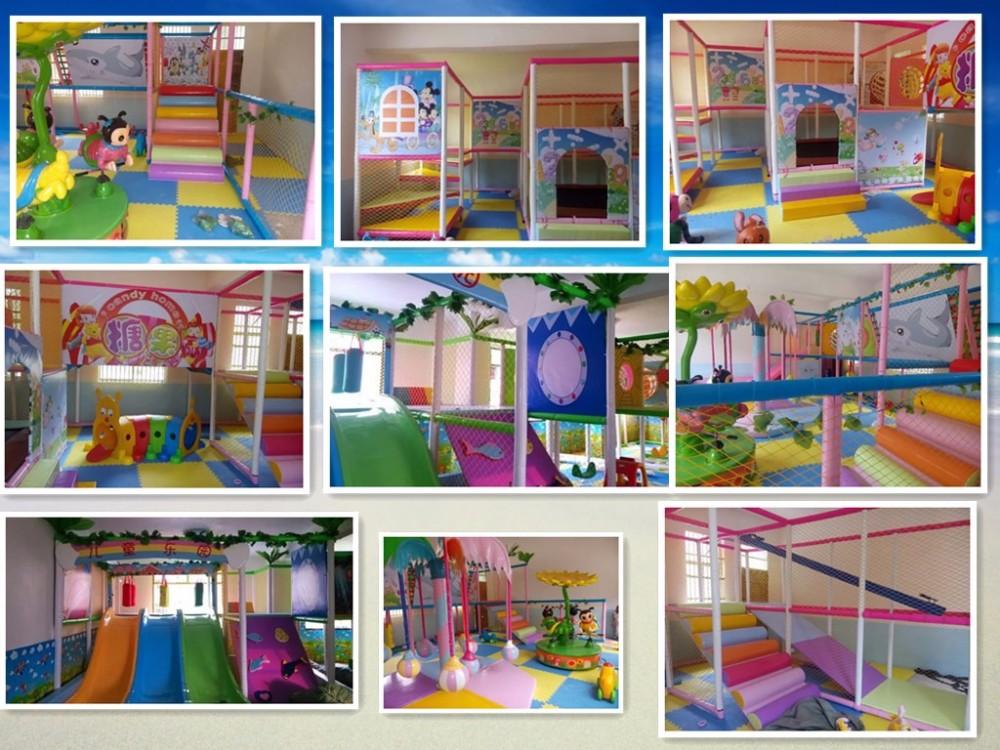 venta caliente moderno castillo travieso nada fort parque infantil suave para nios juegos
