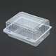 PET PVC PP PS Plastic clamshell packaging box for fruit and food packaging box
