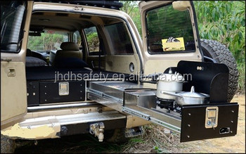 Car Drawer System With Kitchen