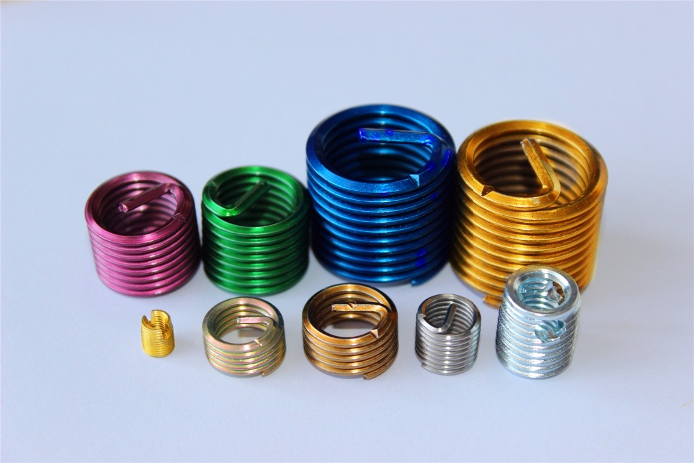 304 Stainless Steel Iso Metric Fasterners Threaded Inserts With ...