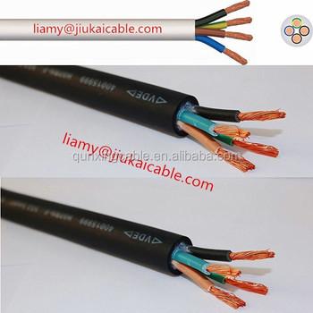 H05vv-f Ttr Kabel 4x6mm2 Elektrische Kabel 300/500 V Flexible Runde ...