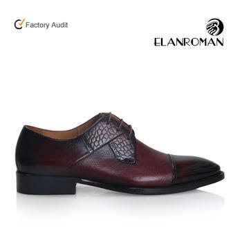 b1f61cbc De lujo de encargo de la moda zapatos de hombre Zapatos de vestir de cuero  Derby