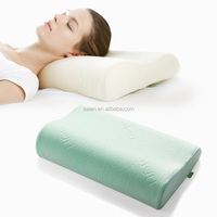 Sleeping breathable relax memory foam bed wedge pillow