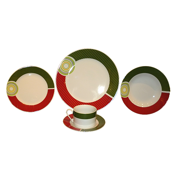 uniquely shaped dinner set,dinner set stoneware