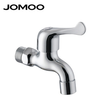 Jomoo Single Hole Wall Mounted Chrome Brass Material Cold Only Water ...