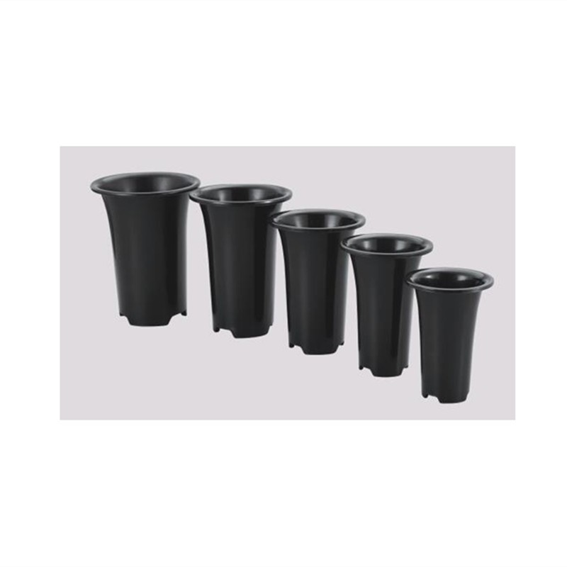 Plastic Garden Plants Small Black Orchid Breathable