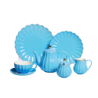 13pcs 15pcs high quality royal design ceramic coffee tea set for gift