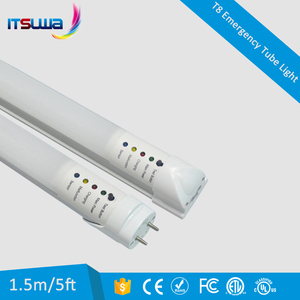 Competitive price T8 led tube 18w internal battery backup t8 led emergency tube lights with ETL DLC Certificated
