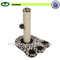 Fine pet product hole sale ! paw shaped cat tree