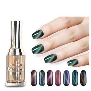 EA brand 2017 new soak off cat eye color gel nail polish
