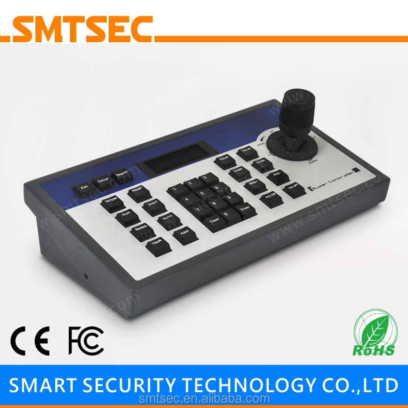 SKB-302 Surveillance 3D 3 Axis Joystick Intellectual RS485 PELCO-D/P LCD Display PTZ Controller Keyboard