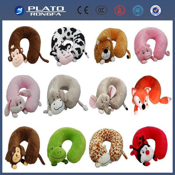 PVC inflatable travel neck pillow bag/inflatable neck pillow