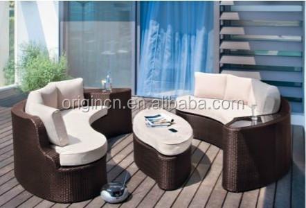 2 En 1 Diván Diseño Seccional Muebles Con Otomana Y Lateral Wine ...