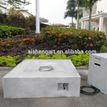 42 Inch Platz Im Freien Beton Gas Feuerstelle Mit Gas Tank Buy Gas