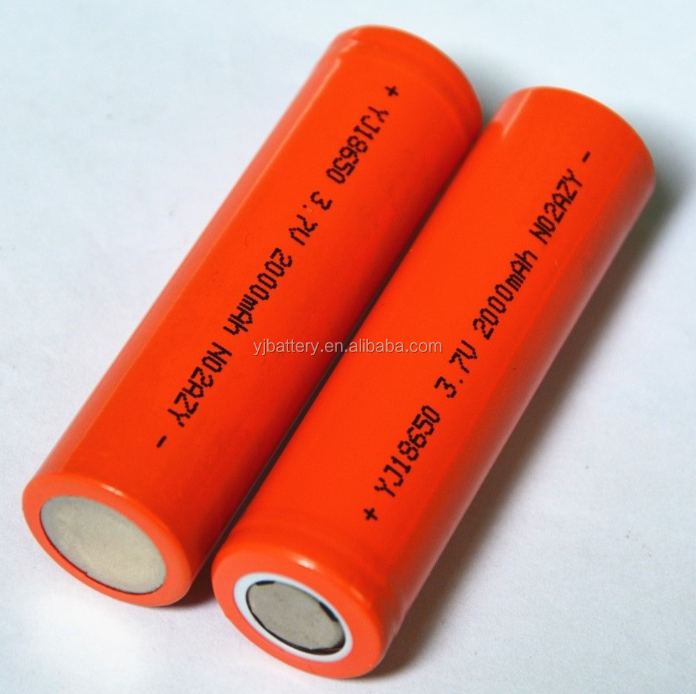 China supplier wholesale high quality 3000 mah 3.7v icr 18650 li-ion rechargeable battery