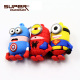 factory price cartoon memory disk 2.0 usb flash drive 32gb 64gb pendrive 32gb Minion superman gift toys pendrive