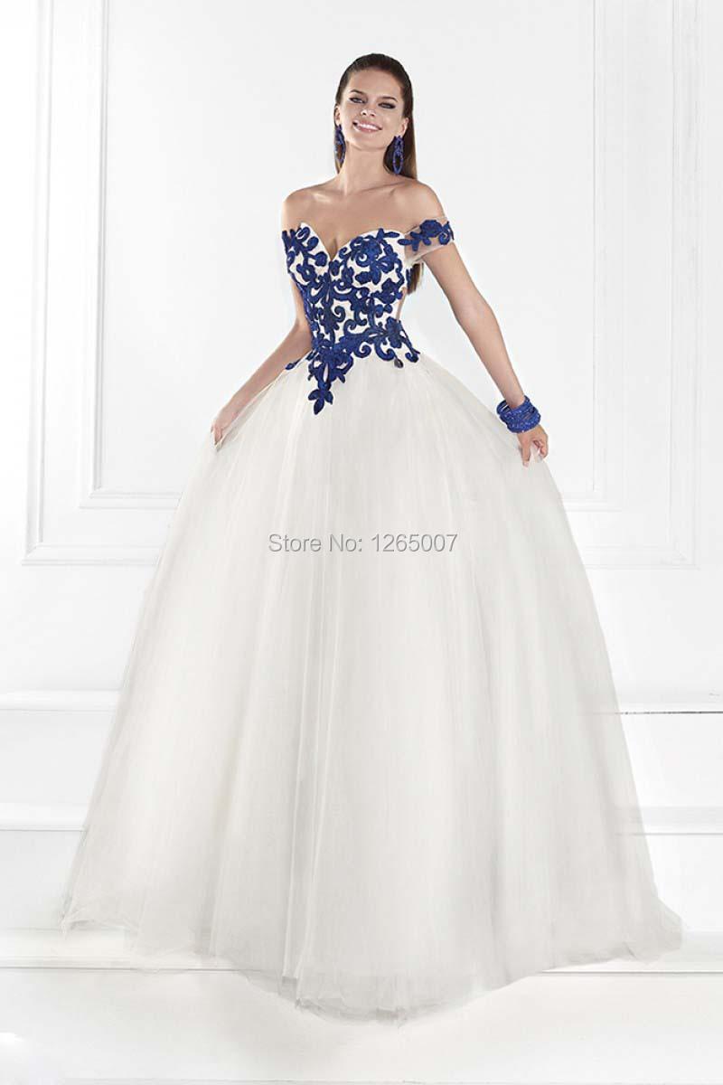 White Puffy Prom Dresses