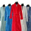 Super absorbent hotel bamboo terry bath robe