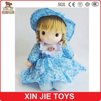 plush doll factory eco-friendly plush material dolls for kids nice design stuffed doll toys