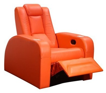 Electric Recliner Sofa In Leather/recliner Chair Parts/lazy Boy Recliner  Sofa Ls811