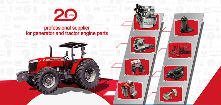 China Factory Directly Selling Engine Accessories for Massey Ferguson Tractor Parts Engine Cylinder Liner
