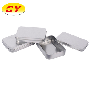 Wholesale tinplate small metal rectangle tin box