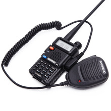 Microfone mic BaoFeng UV-5R BF-888S <span class=keywords><strong>2</strong></span> <span class=keywords><strong>Pin</strong></span> PTT Speaker Mic Walkie talkie Para <span class=keywords><strong>Rádio</strong></span> HYT TYT