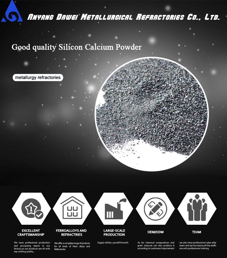एसआई सीए/calciumsilicon