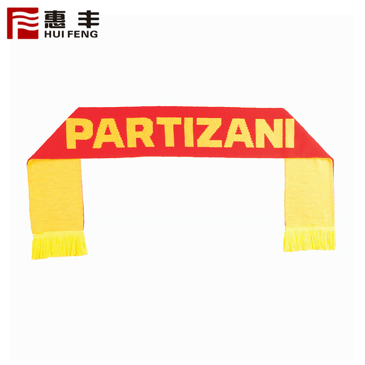 Polyester Scarf/Football Fans Scarf For 2015 Brasil World Cup Brazil