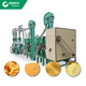 10TPD Small Scale Maize Corn Grits Flour Milling Machine For Bread Maize Flour Grinding Machines for backery flour Complete Line