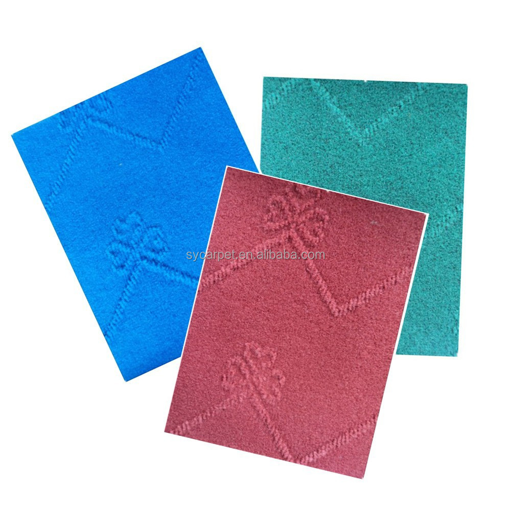 Factory wholesale price 100% Polyester plastic floor mat cheap carpet