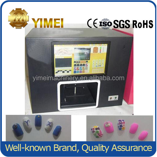 2017 New Design 50w Digital Nail Printer