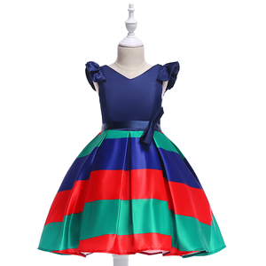 Free Shipping Kids Clothes Baby Girl Dropshipping Bridal Gown Party Dress L-579