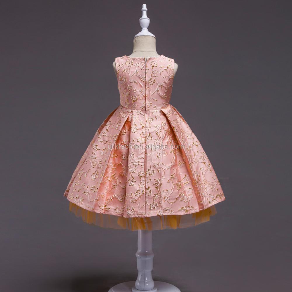 Niños frock designs vestido Girls boutique diseños para la fiesta de ...