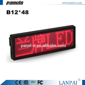 2016 New scrolling electronic mini led price tag