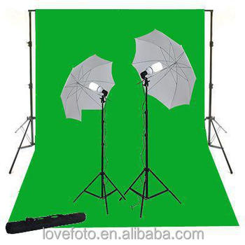 photo equipment backdrops green screen Background professional photography equipment light photo kit