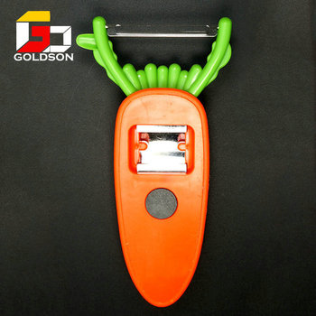 Newest/Kitchen tool kiwi peeler fruit peeler Cartoon shape carrot peeler