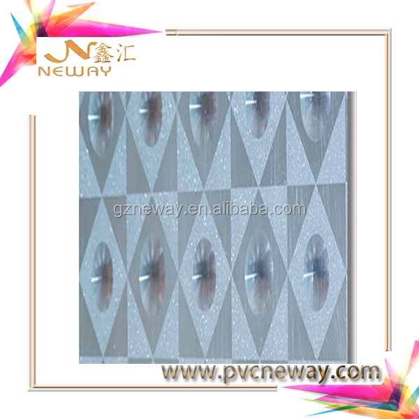 3d self adhesive vinyl window decoration film(manufacturer and supplier)