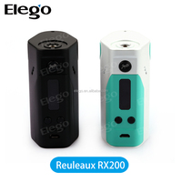 Best selling items New 3*18650 wismec rx 200 wholesale