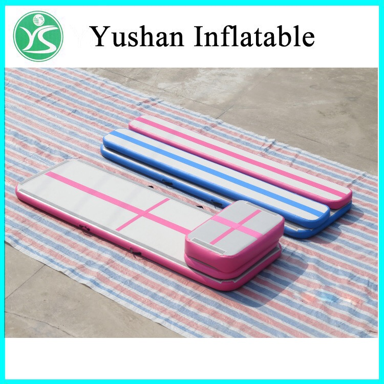 yushan airtrack factory tumble track inflatable air gym. Black Bedroom Furniture Sets. Home Design Ideas