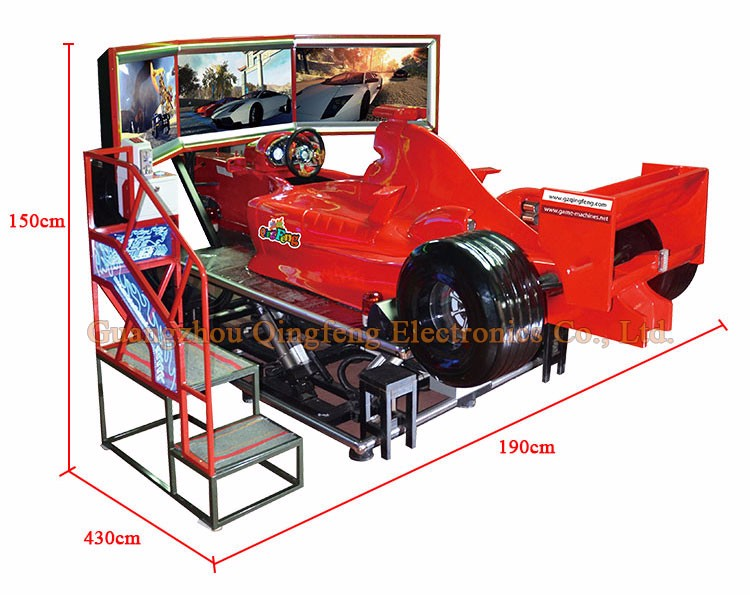 Qingfeng Virtual Reality F1 Driving Simulator Arcade Car Racing