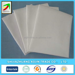 Factory manufacture customized white fabric 108x58 innovative products for import