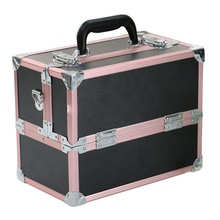 Beauty eyeshadow <span class=keywords><strong>manicure</strong></span> compact aluminium makeup case
