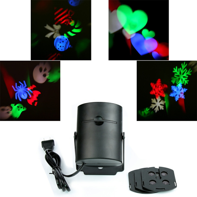 Auto-moving laser lights 3w fairy romantic led laser Lamp lights spider love Halloween Christmas indoor led laser projector