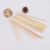 Natural Accept Customized Logo Round Bamboo Disposable Bamboo Chopstick