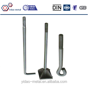 Different Type Of Foundation Bolt,Eye Type Foundation Bolt ...