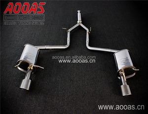 Stainless Steel Exhaust Flexible Pipe System For Car C300 W205 Coupe Saloon