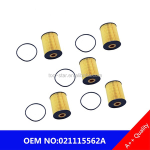 For VW Touareg Audi Q7 Porsche Cayenne Lot of 5 Hengst Oil Filters 021115562A
