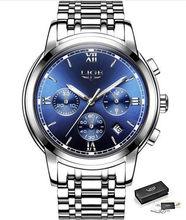 Новинка 2020 LIGE женские часы из розового золота, Бизнес Кварцевые часы, дамские Роскошные Брендовые женские наручные часы, часы для девушек, ...(China)