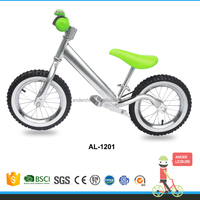 NEW ANDER Balance Bike Metallic Silver toddler push bike kids mountain bikes